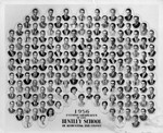 Graduating Class Photo, Evening Division, 1956 by Bentley University