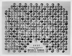 Graduating Class Photo, Evening Division, 1957 by Bentley University